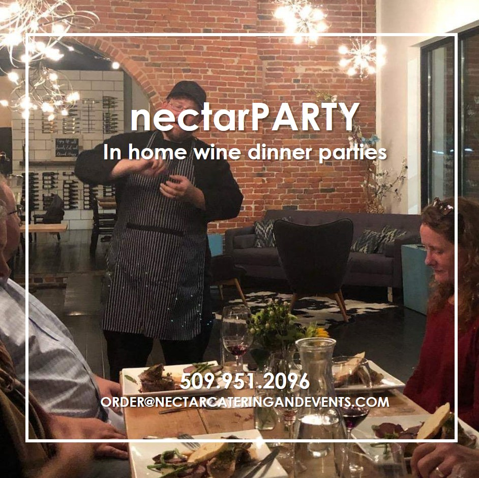 nectarPARTY - experience in home wine dinner parties from our award winning crew